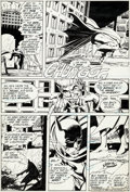Original Comic Art:Panel Pages, Neal Adams Brave and the Bold #93 Story Page 15 BatmanOriginal Art (DC, 1970-71)....