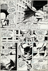 Neal Adams Brave and the Bold #93 Story Page 15 Batman Original Art (DC, 1970-71)