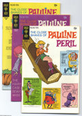 Bronze Age (1970-1979):Cartoon Character, The Close Shaves of Pauline Peril File Copies Group (Gold Key,1970-71) Condition: Average FN/VF. Pauline Peril is a sexy bl...(32 Comic Books)