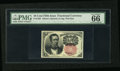 Fractional Currency:Fifth Issue, Fr. 1265 10c Fifth Issue PMG Gem Uncirculated 66 EPQ....
