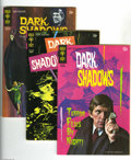 Bronze Age (1970-1979):Horror, Dark Shadows #6-35 File Copies Group (Gold Key, 1970-75) ConditionAverage VF-. This vampire-themed series continued for sev... (32Comic Books)