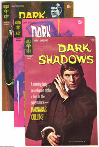 Dark Shadows File Copies Group (Gold Key, 1970-75). The comics in this half-full short box average FN/VF condition unles...