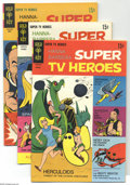 Silver Age (1956-1969):Cartoon Character, Hanna-Barbera Super TV Heroes #3-7 File Copies Group (Gold Key, 1969) Condition: Average VF+. This group of file copies incl... (5 Comic Books)
