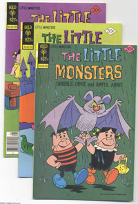 Little Monsters File Copies Group (Gold Key, 1965-78) Condition: Average VF/NM. Awful Annie and 'Orrible Orvie were the...