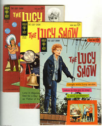 The Lucy Show File Copies Group (Gold Key, 1963-64). This is the full run of this series, #1, 2, 3, 4, and 5. Issues #1...