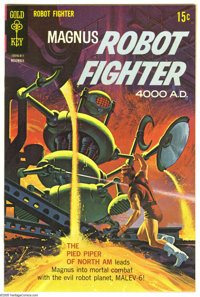 Magnus Robot Fighter File Copies Box Lot (Gold Key, 1965-72) Condition: Average VF. This lot consists of a short box ful...