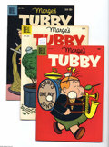 Silver Age (1956-1969):Humor, Marge's Tubby File Copies Box Lot (Dell, 1956-59). Here's a short box loaded with Western Publishing file copies of Tubby ... (116 Comic Books)