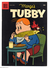 Marge's Tubby File Copies Box Lot (Dell, 1956-61) Condition: Average VF/NM. This full short comic box contains approxima...