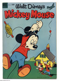 Silver Age (1956-1969):Cartoon Character, Mickey Mouse File Copies Box Lot (Dell/Gold Key/Whitman, 1956-84) Condition: Average VF. This full short comic box contains ...
