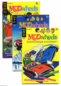 Mod Wheels and The Modniks File Copies Group (Gold Key, 1967-74) Condition: Average VF/NM. This group of Western Publish...
