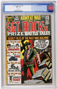 Our Army at War #229 (DC, 1971) CGC NM+ 9.6 Off-white pages