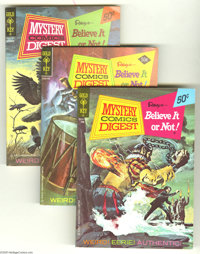 Mystery Comics Digest File Copies Box Lot (Gold Key, 1972-75) Condition: Average NM-. The file copies in this box lot ar...