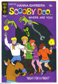 Scooby Doo File Copies Group (Gold Key, 1970-74) Condition: Average FN/VF. Group includes 75 issues of Gold Key Scooby D...