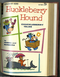 Dell/Gold Key Hanna-Barbera Group (Dell/Gold Key, 1962-63). This group of three bound volumes all feature Hanna-Barbera...