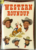 Golden Age (1938-1955):Miscellaneous, Dell Giant Comics Western Roundup #1-25 Bound Volumes (Dell, 1952-58). All you saddle pals out there, listen up! This group ... (6 items)