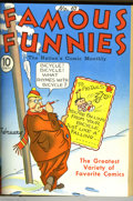 Golden Age (1938-1955):Miscellaneous, Famous Funnies #61-84 Bound Volume Group (Eastern Color, 1939-41) Condition: Average VG+. A favorite among early comics fans... (2 items)