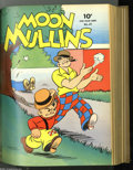 Golden Age (1938-1955):Miscellaneous, Four Color #25-36 Bound Volume (Dell, 1943-44). Here's another early Four Color bound volume sure to get collectors exci...