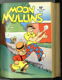 Four Color #25-36 Bound Volume (Dell, 1943-44). Here's another early Four Color bound volume sure to get collectors exci...