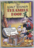 "Golden Age (1938-1955):Cartoon Character, Four Color Reprints (UK): ""Walt Disney Treasure Book"" (Odhams Press) Condition: VG. This British publication reprints Four..."