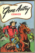 Golden Age (1938-1955):Western, Gene Autry Comics #1-12 Bound Volume (Dell, 1946-48). These arefile copies which were trimmed and bound into one hardcover ...