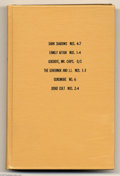 Bronze Age (1970-1979):Miscellaneous, Gold Key Miscellaneous Titles Bound Volumes (Gold Key, 1970). Theseare Western Publishing file copies which have been trimm...