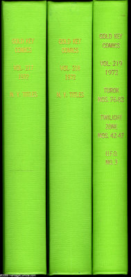 Gold Key Miscellaneous Titles Bound Volumes (Gold Key, 1972). These are Western Publishing file copies which have been t...
