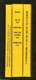 Bronze Age (1970-1979):Miscellaneous, Gold Key Miscellaneous Titles Bound Volumes (Gold Key, 1976). If these comics hadn't been bound and trimmed into hardback vo... (3 items)