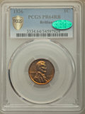 Proof Lincoln Cents, 1936 1C Type Two--Brilliant Finish PR64 Red and Brown PCGS Secure. CAC. PCGS Population: (128/18 and 0/0+). NGC Census: (45...