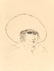 Leonard Baskin (1922-2000) Begh, n.d. Etching on Arches paper 17-3/4 x 17-3/4 inches (45.1 x 45.1 cm) (image) 30 x 2...