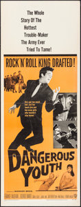 """Movie Posters:Rock and Roll, Dangerous Youth & Other Lot (Warner Brothers, 1958). Inserts (2) (14"""" X 36""""). Rock and Roll.. ... (Total: 2 Items)"""