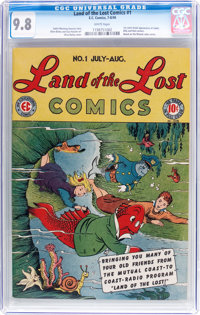Land of the Lost Comics #1 (EC, 1946) CGC NM/MT 9.8 White pages
