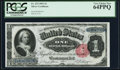 Large Size:Silver Certificates, Fr. 223 $1 1891 Silver Certificate PCGS Very Choice New 64PPQ.. ...