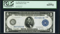 Fr. 851b $5 1914 Federal Reserve Note PCGS Gem New 66PPQ