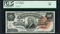 Large Size:Silver Certificates, Fr. 293 $10 1886 Silver Certificate PCGS Very Fine 30.. ...
