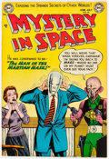 Golden Age (1938-1955):Science Fiction, Mystery in Space #20 (DC, 1954) Condition: FN....