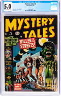 Golden Age (1938-1955):Horror, Mystery Tales #8 (Atlas, 1953) CGC VG/FN 5.0 Cream to off-whitepages....