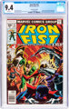 Iron Fist #15 35-Cent Price Variant (Marvel, 1977) CGC NM 9.4 White pages