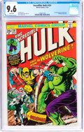 Bronze Age (1970-1979):Superhero, The Incredible Hulk #181 (Marvel, 1974) CGC NM+ 9.6 White pages....