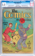 Platinum Age (1897-1937):Miscellaneous, The Comics Magazine #1 (Comics Magazine, 1936) CGC VG- 3.5 Off-white pages....