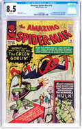 Silver Age (1956-1969):Superhero, The Amazing Spider-Man #14 (Marvel, 1964) CGC VF+ 8.5 White pages....