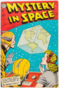 Golden Age (1938-1955):Science Fiction, Mystery in Space #22 (DC, 1954) Condition: FN/VF....