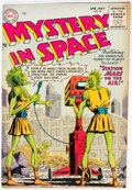 Golden Age (1938-1955):Science Fiction, Mystery in Space #25 (DC, 1955) Condition: VG/FN....