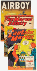 Golden Age (1938-1955):Miscellaneous, Comic Books - Assorted Golden Age Comics Group of 6 (Various Publishers, 1940s) Condition: Average GD/VG.... (Total: 6 Comic Books)