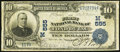 National Bank Notes, Fond Du Lac, WI - $10 1902 Date Back Fr. 616 The First NB Ch. # (M)555. ...