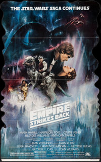"""The Empire Strikes Back (20th Century Fox, 1980). Standee (36"""" X 58""""). Roger Kastel Artwork. Science Fiction..."""