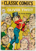 Golden Age (1938-1955):Classics Illustrated, Classic Comics #23 Oliver Twist - First Edition (Gilberton, 1945) Condition: FN+....