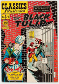 Golden Age (1938-1955):Classics Illustrated, Classics Illustrated #73 The Black Tulip - First Edition (Gilberton, 1950) Condition: FN....
