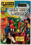 Golden Age (1938-1955):Classics Illustrated, Classics Illustrated #71 The Man Who Laughs - First Edition (Gilberton, 1950) Condition: FN+....