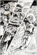 Original Comic Art:Panel Pages, Gil Kane and Tom Sutton Werewolf by Night #11 Story Page 18Original Art (Marvel, 1973)....