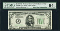 Error Notes:Double Denominations, Fr. 1960-J $5/$10 1934D Federal Reserve Note. Double Denomination Error. PMG Choice Uncirculated 64 EPQ.. ...